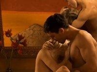 Райское наслаждение для сексуальной телочки