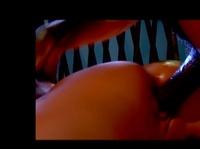 Лысый мужик прет во влагалище узкоглазую чертовку