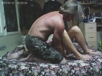 Вагинальный секс мужика и девчурки