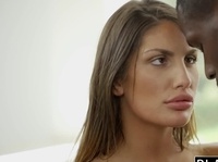 Негр ебет секретаршу на порно кастинге