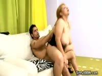Наказал свою жирную взрослую даму в жопу